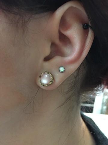 opal Ear piercing 2016