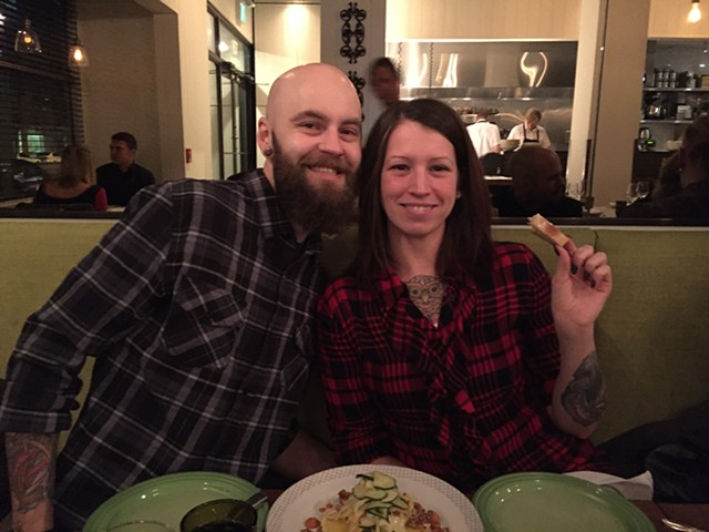 Christmas Party Megan and Chris 2016