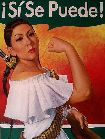 Mexican Rosie the Riveter
