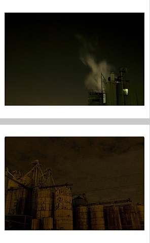 Limited Edition Print Series  Industry (top image)  Colossus (bottom image)