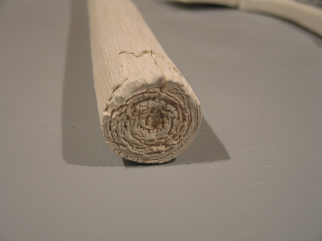 Porcelain Pick Ax (detail)