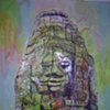 Rock Face Buddha