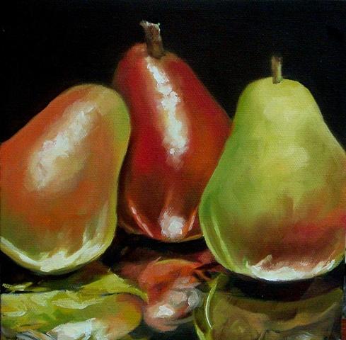 triple pear