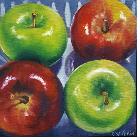 Apples Squared in a Bin