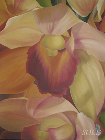 Diana's Orchid by Catie Barron