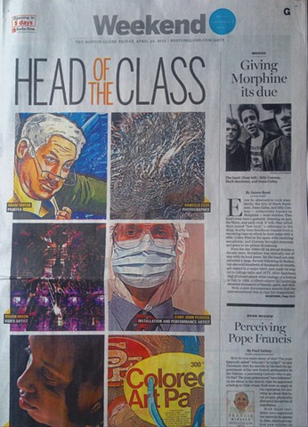 Boston Globe Arts Section Cover