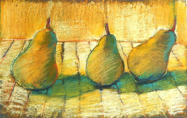 3 Pears Revisited.....   SOLD