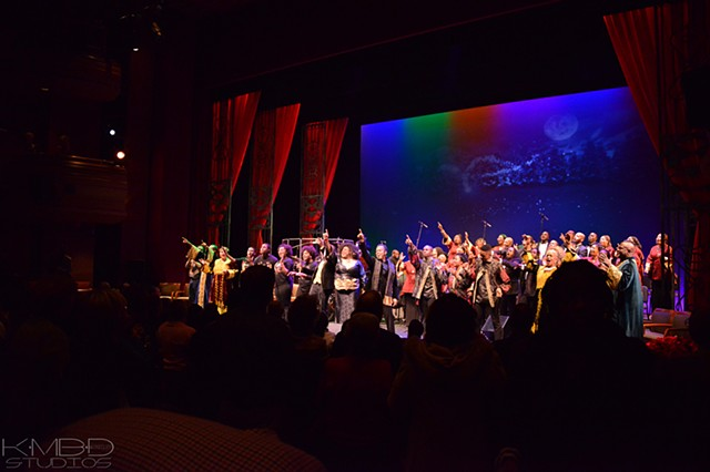 The Grand Finale  (in mid lighting chase) Pic courtesy of Kadesh DuBose/KmBd Studios™