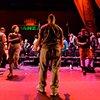 StepAfrika steps in for the dance breaks. Pic courtesy of Kadesh DuBose/KmBd Studios™