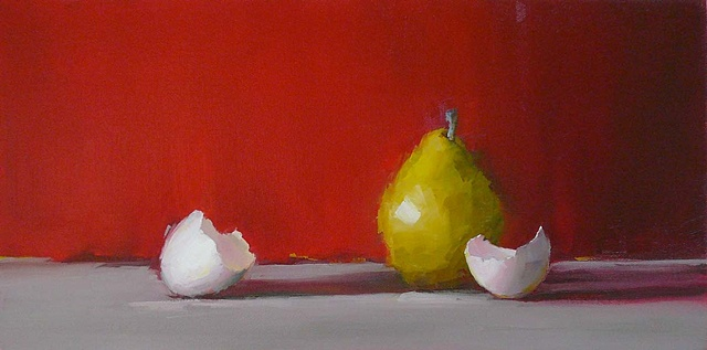 Pear and Eggshells