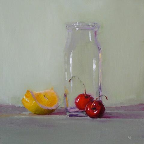 Lemon Wedge and Cherry