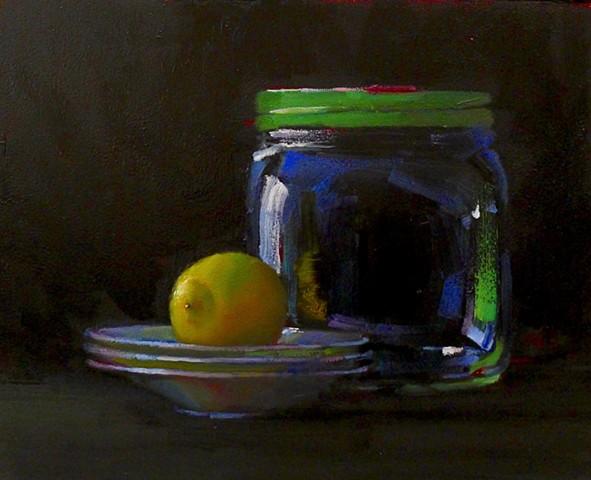 Big Jar with Lemon