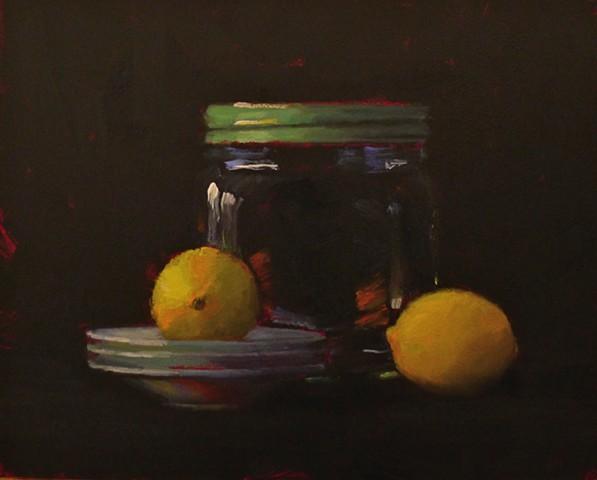 Big Jar with Lemons