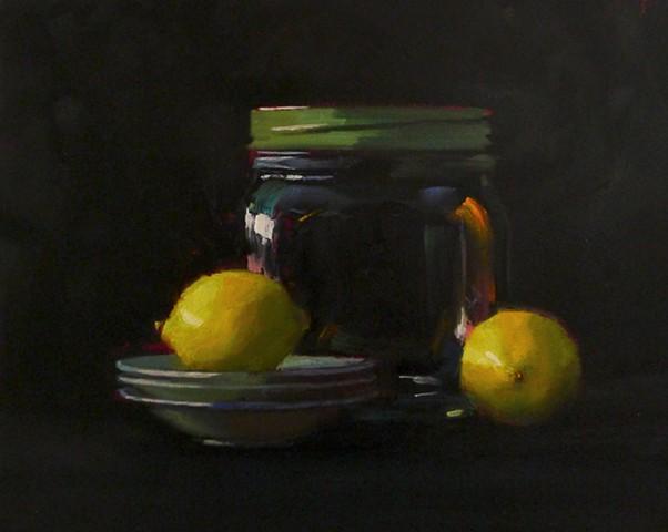 Lemons and Big Jar