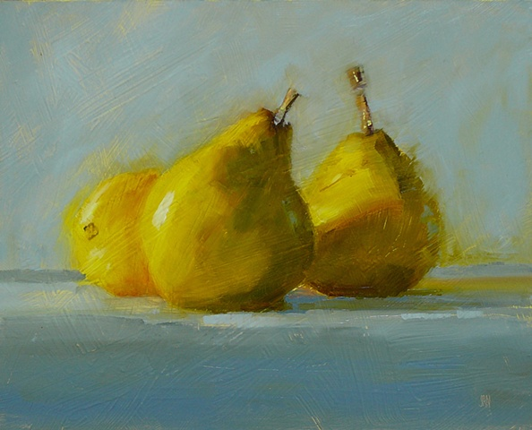 Pears in the Wind
