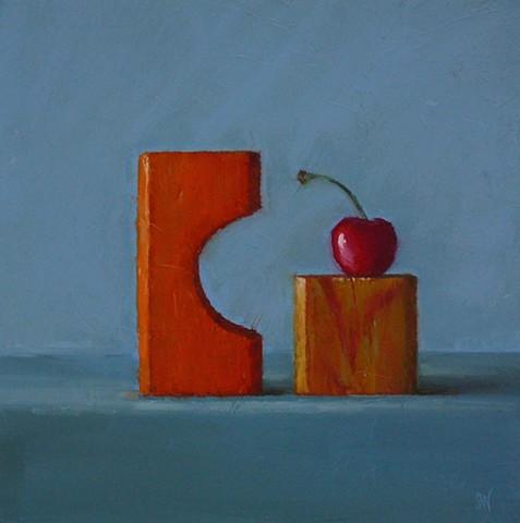 Cherry with Blocks
