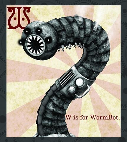 WormBot Propaganda  Limited Edition
