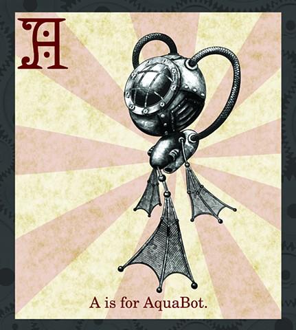 AquaBot Propaganda Limited Edition