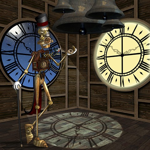 Impossible Winterbourne  C is for ClockBot