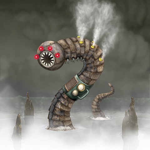 Impossible Winterbourne  W is for WormBot