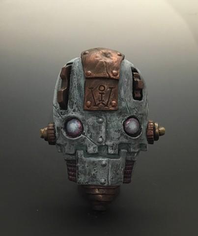 "Impossible Winterbourne  ""Skull Bots"" Bronze"