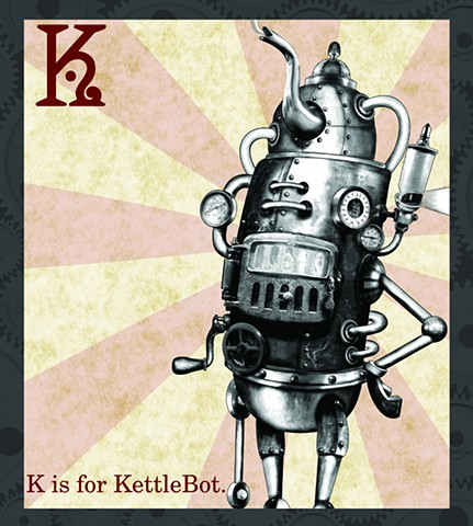KettleBot Propaganda  Limited Edition