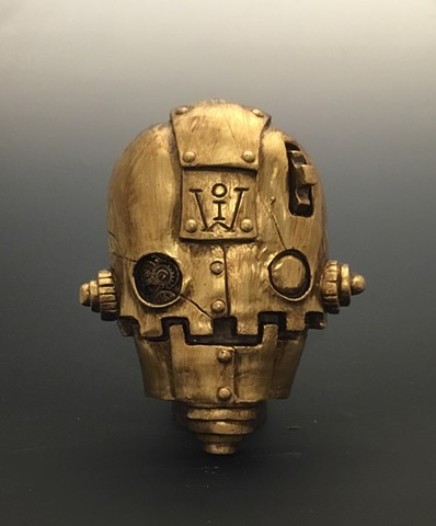 """Impossible Winterbourne  """"SkullBots"""" Gold Limited Edition"""