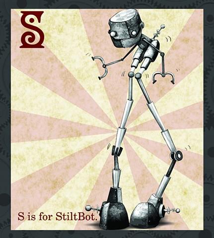 StiltBot Propaganda  Limited Edition