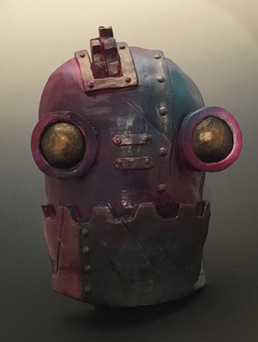 """Impossible Winterbourne  """"SteamBot Face"""" Purple, Blue"""