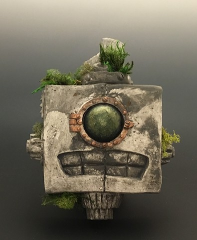 """Impossible Winterbourne  """"Pipes Boxington""""  Stone and Moss"""