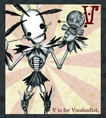 VooDooBot Propaganda  Limited Edition