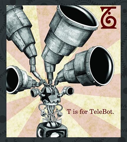 TeleBot Propaganda  Limited Edition