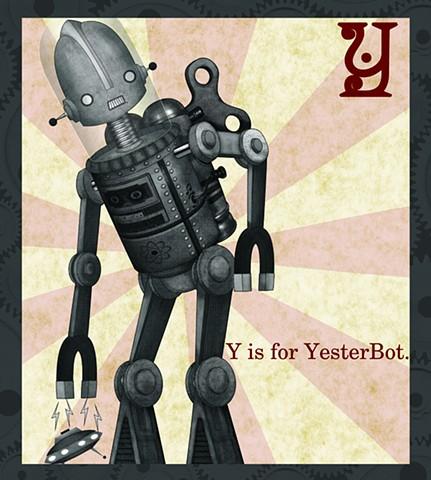 YesterBot Propaganda  Limited Edition