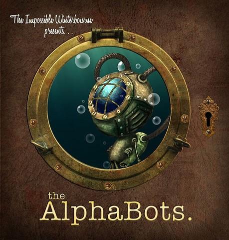 """Alpha Bots"" Signed Book"