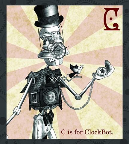 ClockBot Propaganda  Limited Edition