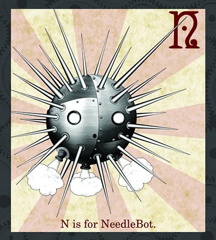 NeedleBot Propaganda  Limited Edition