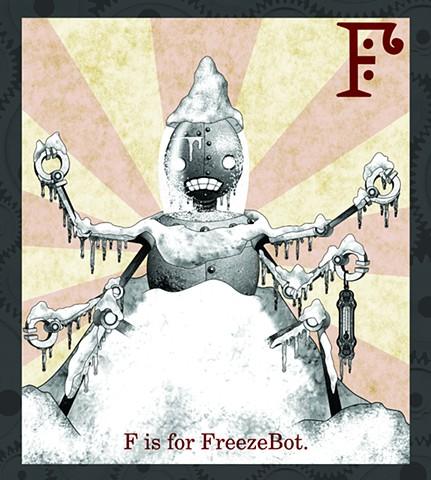 FreezeBot Propaganda  Limited Edition
