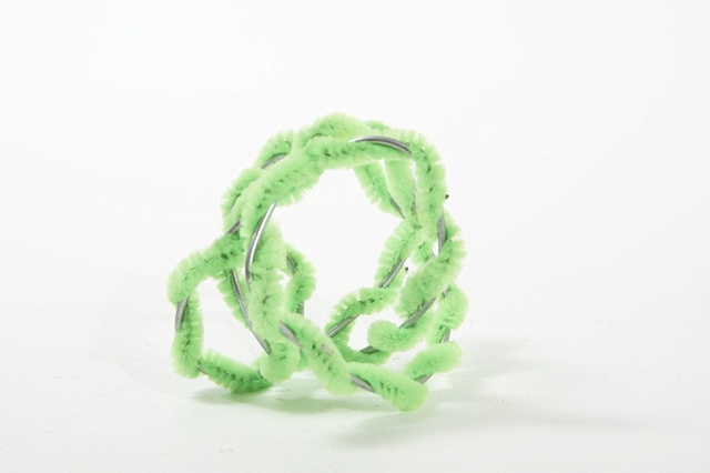 Green Pipe-cleaners