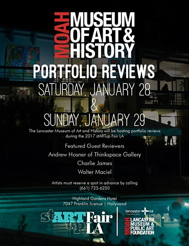 Artist Portfolio Reviews
