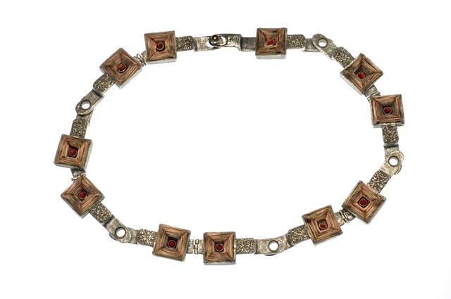 """Bike Chain Necklace"""