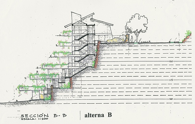 Ziggurat, La Parguera, 2005
