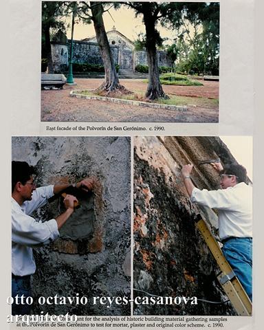 Polvorín de San Gerónimo, 1994
