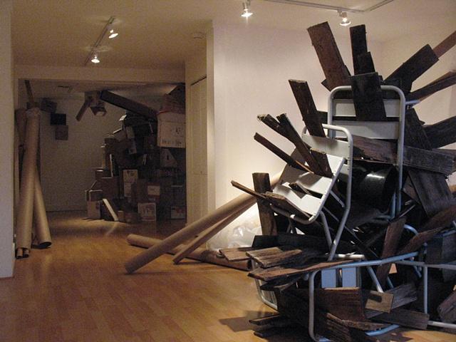 installation view - Valise Gallery, Vashon, WA