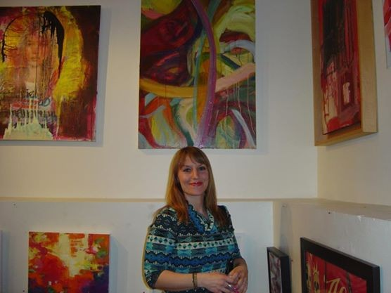 Sonya The Red Show reception 2
