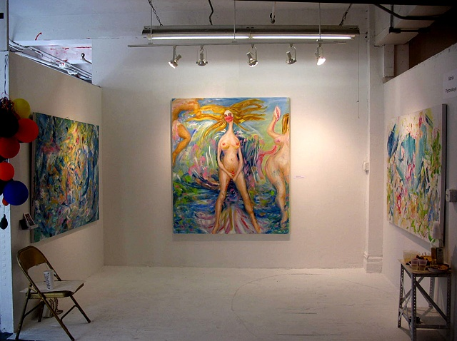 """Birth Of Venus"" installation view"
