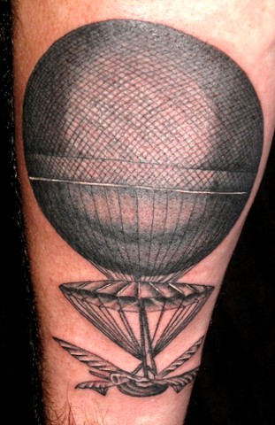 airship tattoo
