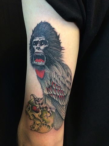 kong tattoo