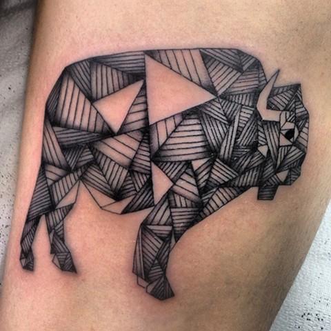 buffalo tattoo
