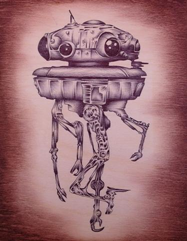 probot imperial droid