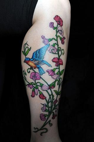 birdsweetpeas